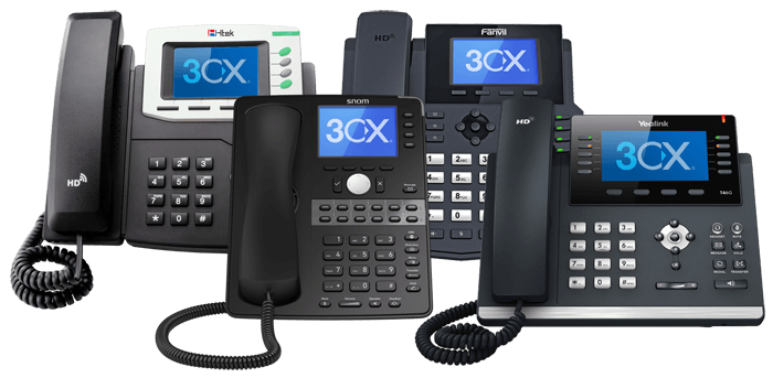 3CX desk phones